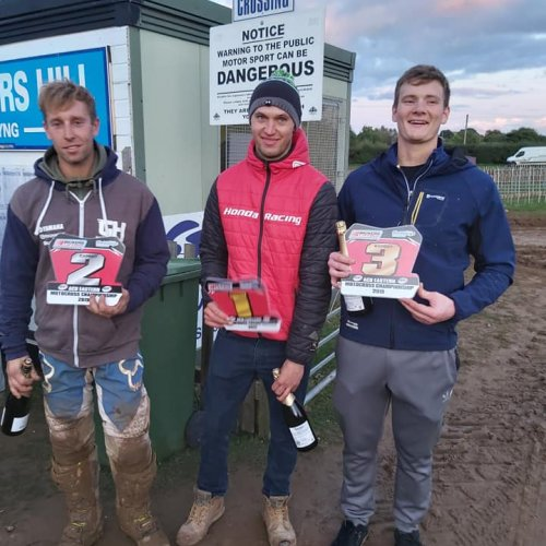 Expert 1,2 3 for 2019 -1st Lewis Tombs, 2nd Luke Benstead, 3rd Declan Whittle