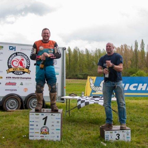 Clubman Vets podium